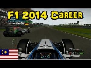 F1 2014 Career - Part 2: Malaysia