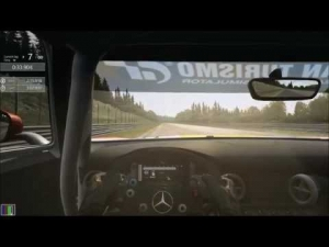 Assetto Corsa - Mercedes SLS GT3 at Spa 2:15.918