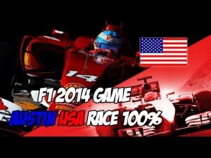 F1 2014 Austin COTA GP 100% Race