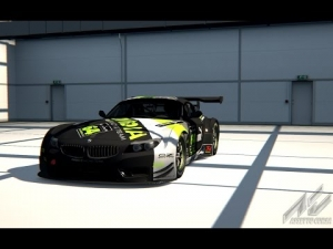 BMW Z4 GT3 Onboard Hotlap Nurburgring GP - Assetto Corsa