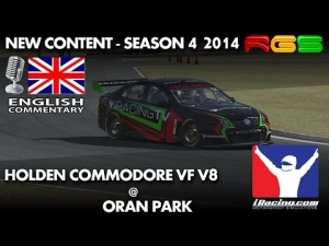iRacing.com | Holden Commodore VF V8 | Oran Park | Test Drive