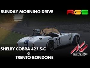 Assetto Corsa   Shelby Cobra   Trento-Bondone   Hill Climb   Sunday Drive