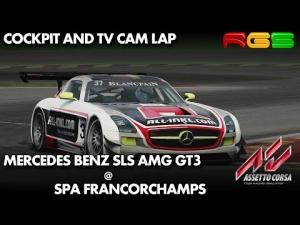Assetto Corsa | Mercedes-Benz SLS GT3 | Spa Francorchamps | 1.0 Version