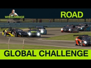 iRacing : 2014S4W2 Global Challenge (Fixed) - Watkins Glen - Cadillac