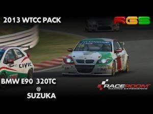 RaceRoom RE | BMW e90 320TC | Suzuka | 2013 WTCC Pack | 1080p60