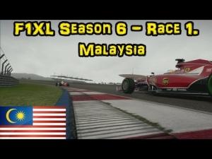 F1XL Season 6 - Race 1. Malaysia