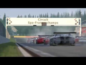 Assetto Corsa Spa Multiplayer Mercedes GT3