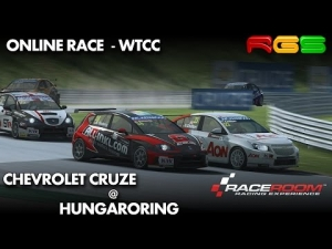 RaceRoom RE | Chevrolet Cruze | Hungaroring | Online Race