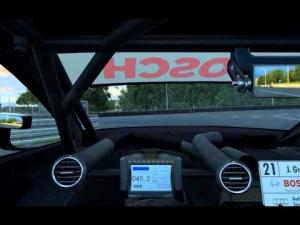 R3E DTM experience 2014 AI race @ Norisring