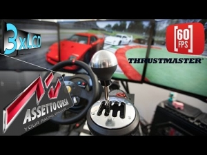 Assetto Corsa | first test of Thrustmaster Shifter TH8A | Ferrari F40 | 60 fps