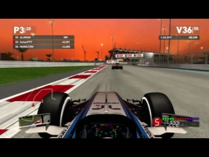 F1 2014 PS3 | Abu Dhabi GP 100% Race Day/Night