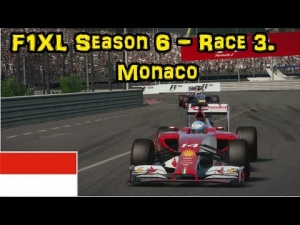 F1XL Season 6 - Race 3. Monaco