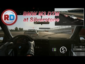 BMW M3 DTM at Silverstone [Racedepartment] [60fps]