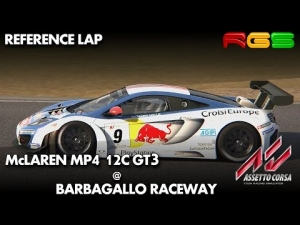 Assetto Corsa   McLaren MP4 12C GT3   Barbagallo Raceway   Quality Mods