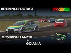 Copa Petrobras de Marcas | Mitsubishi Lancer | Goiânia
