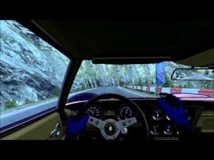 Lamborghini Miura at (fictional) Lakeside