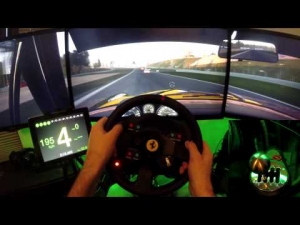 Project CARS | beauty SUNSET Nurburgring GP race | RETRO class | TH8A shifter 60 fps