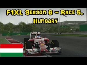 F1XL Season 6 - Race 5. Hungary