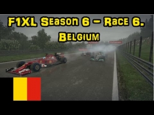 F1XL Season 6 - Race 6. Belgium