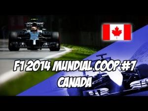 F1 2014 Canada | #7 Trayectoria Coop con Javift14 | McLaren | IA Leyenda PS3 [ESP]