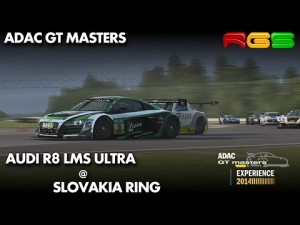 ADAC GT Masters Experience 2014 | Audi R8 LMS Ultra | Slovakia Ring | R3E