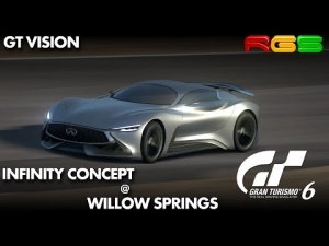 Gran Turismo 6 | GT Vision | Infinity Concept | Willow Springs