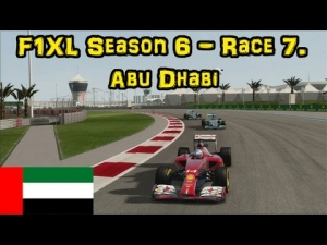 F1XL Season 6 - Race 7. Abu Dhabi