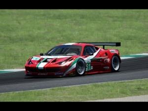 Asseto Corsa 458 italia GT2 2 laps Nuburgring