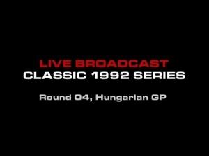 FSR 2014 Classic 1992 Series Round 4 - Hungaroring