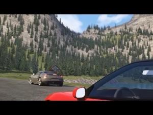 Assetto Corsa - Lake Louise 1.6 - Honda NSX Chasing Lotus Evora S