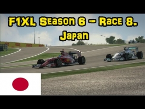 F1XL Season 6 - Race 8. Japan