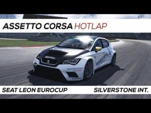 Assetto Corsa | Seat Leon Hotlap Silverstone Int. | 1:11.080