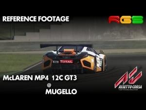 Assetto Corsa | McLaren MP4 12C GT3 | Mugello