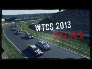 R3E WTCC 2013 Suzuka Highlights