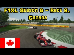 F1XL Season 6 - Race 9. Canada