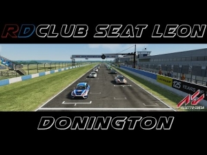 Assetto Corsa - RD Club Seat Leon @ Donington Nat.