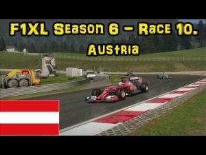 F1XL Season 6 - Race 10. Austria