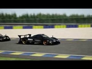 Pagani Zonda at Circuit de la Sarthe | AC