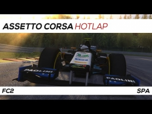 Assetto Corsa | FC2 Hotlap Spa | 1:57.911