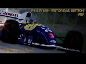 AC F1-S-R 1991 Historical Edition WIP FW14