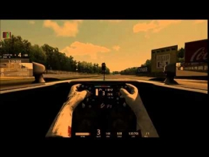 Assetto Corsa Replay Test Run Monza 1966 Layout FF1 2015 Mod Mercedes AMG Petronas Cockpit View