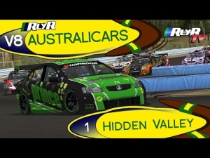 RlyR V8 Australicars - Round 1 - Hidden Valley