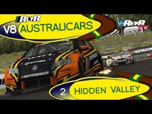 RlyR V8 Australicars - Round 2 - Hidden Valley