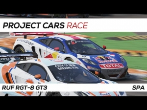 Project Cars | GT3 Race | 3 Laps Spa
