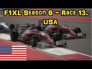 F1XL Season 6 - Race 13. USA