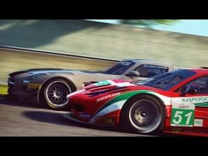 Assetto Corsa Multiplayer: SLS GT3 vs 458 GT2