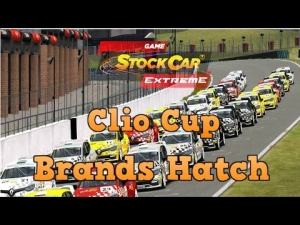 Stock Car Extreme Clio Cup at Brands Hatch Grand Prix Circuit