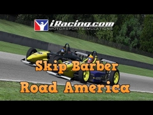 iRacing Official Skip Barber race from Road America - Close racing