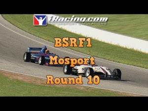 iRacing BSRF1 Round 10 at Mosport - Land mine ahoy!