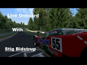 Live onboard  Mazda 787B at Nordschleife